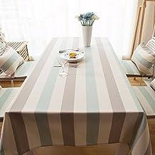 120 X 180 Cm Beige Braun Grn Streifen Minimalistisch Japanische Instagram Tisch Tuch Baumwolle Leinen Esstisch