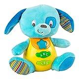Winfun - Peluche Perro para bebés que habla y luces de colores - Idioma: Español (ColorBaby 85175)