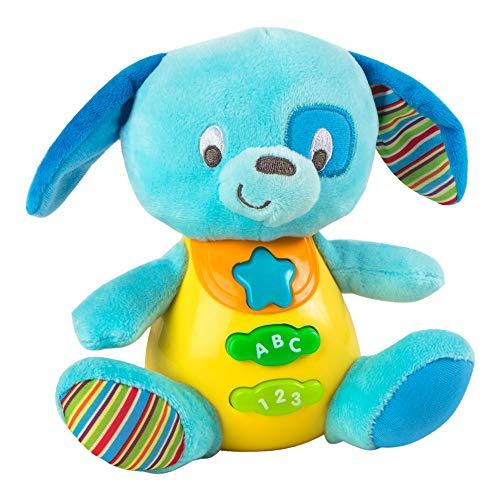 Winfun - Peluche Perro para bebés que habla y luces de...