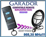 GARADOR- HSE2 868 compatible remote control, replacement transmitter, 868.3Mhz clone!!!