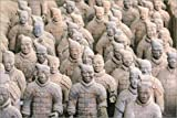 Posterlounge Forex-Platte 90 x 60 cm: Terra Cotta Army Museum, The Terracotta Army of Warriors & Horses is a Collection of Terracotta scul von Stuart Westmorland/Danita Delimont