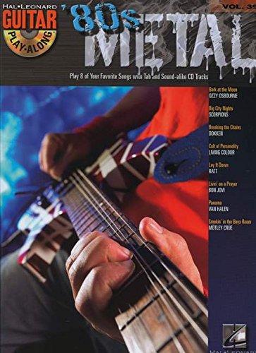 Guitar Play-Along Volume 39: '80s Metal (Book & CD)