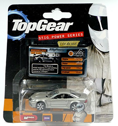 "Preisvergleich Produktbild Top Gear Mercedes SL65 AMG BLACK Modellauto 1:64 ""STIG POWER SERIES"""