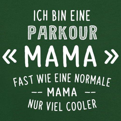 Ich bin eine Parkour Mama - Herren T-Shirt - 13 Farben Flaschengrün