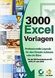 3000 Excel-Vorlagen Bild