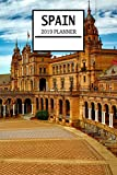 Spain 2019 Planner: Spanish Theme Weekly Planner and Journal - Schedule Organizer - 6'x9' 100 Pages Journal (Spain 2019 Planner Series - Volume 7)