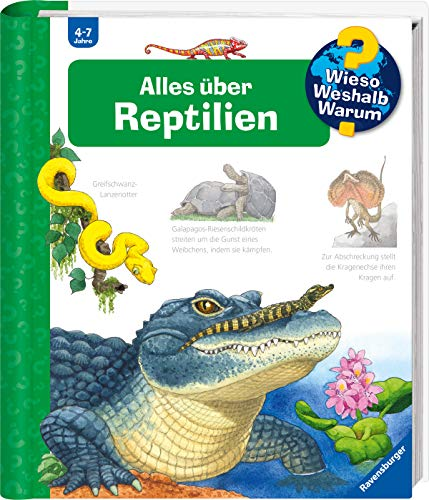 Alles über Reptilien (Wieso? Weshalb? Warum?, Band 64) -