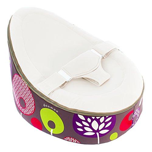 Doomoo doo-st-st2Sessel-Sitzsack für Babys, sandfarben, Baummotiv