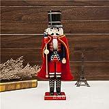 Best Cadeaux Boutique Décorations de Noël - Queta Marionnette 38cm Cape Casse-Noisette Maison Salon Décoration Review