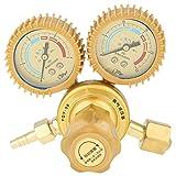 Cocoarm 1 PZ Regolatore di Pressione dell'ossigeno Indicatore di Gas di Saldatura Regolatore del Gas di Ossigeno Calibro della Valvola G5 / 8 Filettatura per il Taglio Saldatura Saldatore