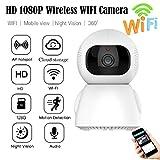xue binghualoll HD 1080P Cámara IP Vigilancia en el hogar WiFi Seguridad Visión Nocturna Audio bidireccional AU