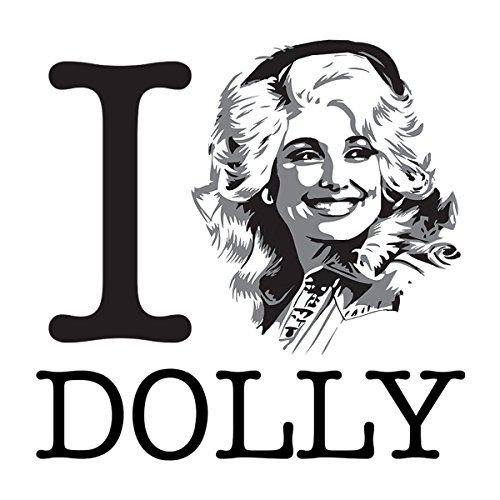 I Heart Dolly Parton Women's Vest White