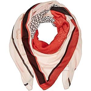 Calvin Klein New Joyce 2 Bufanda, Rosa (Scallop Shell 619), única (Talla del Fabricante: OS) para Mujer