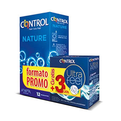 Control Nature y Ultra Feel - 15 unidades