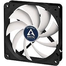 ARCTIC F12 Silent - Ventilador caja de 120 mm super silencioso, con carcasa estándar, casi silencioso, posibilidad de instalar en dos direcciones