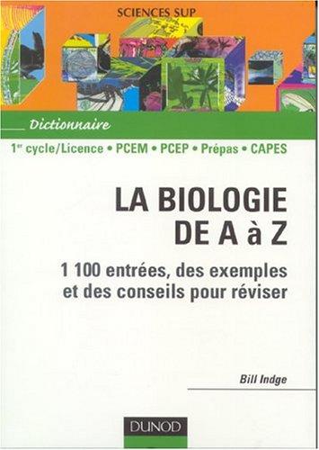 Biologie de A  Z