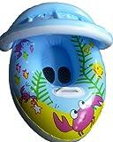 Krabbe Baby-Schwimmen Boot / schwimmen Sitz, mit abnehmbarer Sonnenschirm, neue