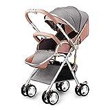 Shisky Sitzbuggys, Kinderwagen,Gao Landschaft Baby Kinderwagen Licht Sitz kann Zwei-Wege-Kinderwagen Aufhängung Fahrrad 100 * 64 * 52 cm liegen.
