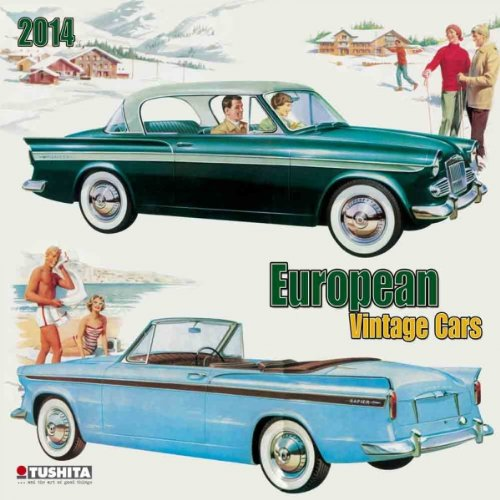 European Vintage Cars 2014 (Media Illustration)