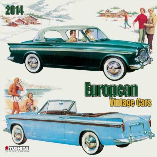 European Vintage Cars 2014 (Media Illustration)