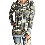 Taiduosheng Damen Sweatshirt Black,Camouflage, Camouflage, YGXH70515-1-1-3
