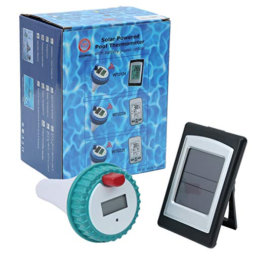 Professionelle Wireless Digital Pool SPA Schwimmthermometer Wireless-Innen- und Außenpool Spa Whirlpool Thermometer