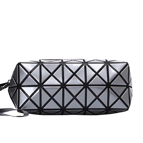 Frauen-geometrisches Muster Multi-Funktions-Verfassungs-Kosmetik-Tasche L