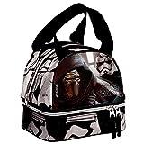 Montichelvo Bolsa Portameriendas Modelo Star Wars Starkiller, Compuesto, 25x8x20 cm