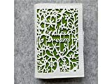 BGTYHU Mode Kreative weiche Filz Cover Tagebuch und Zeitschriften für Home School Office Travel (zufällige Muster (grün)