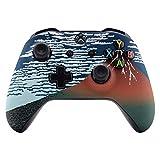 eXtremeRate Feiner Winddurchsichtige Fuji-Blende Abdeckung für die Vorderseite mit weichem Griff für Xbox One S und Xb