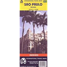 Sao Paulo World City Map (Travel Reference Map)