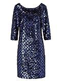 Reken Maar Damen Abendkleid mit Allover-Paillette 40