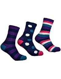 3 Pairs of Ladies Soft & Warm FLUFFY Socks - Cosy Socks