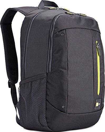 """Case Logic WMBP115GY Sac à dos en nylon pour Ordinateur portable 15,6"""" Gris"""