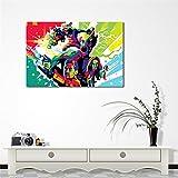Rjjwai Póster De Película Guardianes De La Galaxia Lienzo Pintura Arte Imágenes De Pared Para Sala De Estar Decor Del Dormitorio 40x60cm