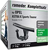 Rameder Komplettsatz, Anhängerkupplung starr + 13pol Elektrik für OPEL Astra K Sports Tourer (150498-14870-1)