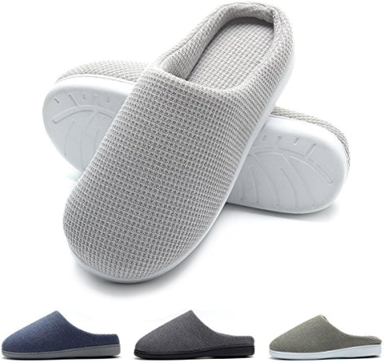 FLY HAWK - Zapatillas de estar por casa para hombre -