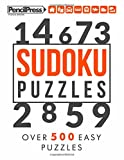 Sudoku Puzzles: Over 500 Easy Sudoku puzzles for adults (with answers)