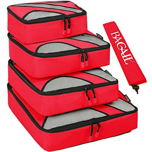 BAGAIL - Organizador para maletas  Rojo rojo