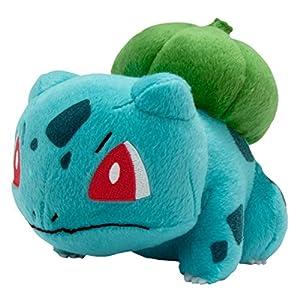 Pokemon T18536BULBASAURNEW–Plüsch-Bisasam 20 cm, Offizielles Lizenzprodukt