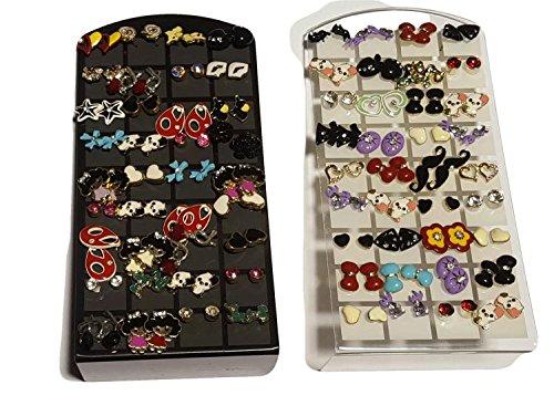 36 paia ORECCHINI RF stock lotto rivenditori commercianti orecchino