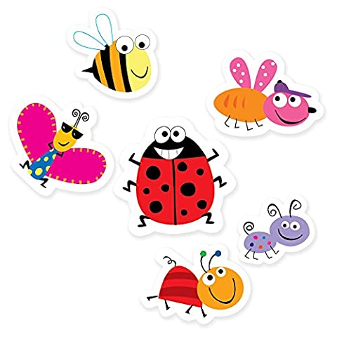 Creative Teaching Press 6-Inch Designer Cut-Outs, Bugs (6479)