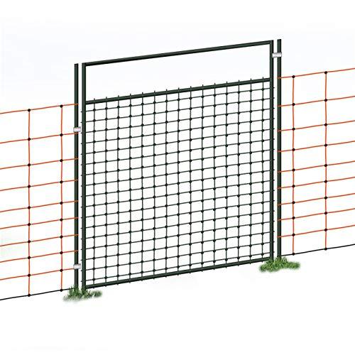 porte pour filets électriques, électrifiable, kit complet, 105 cm