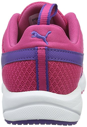 Puma Carson Mesh, Baskets Basses Mixte Enfant Rose - Pink (Fuchsia Purple-Prism Violet 04)