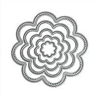 DIPOLA Plantilla de Dibujos para Imprimir con Aerógrafo,para Bricolaje,Álbum de Recortes,