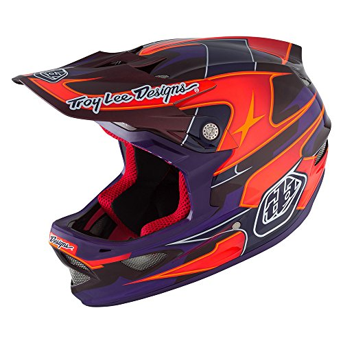 Troy Lee D3 Carbon MIPS-Helm XS Render Purple (City Hardware Bag)
