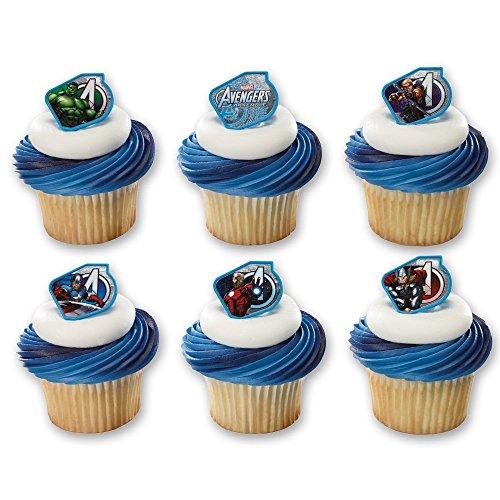 ngers Warriors Cupcake Rings (12 Count) ()