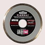 Kreher/Toroflex - Diamanttrennscheibe | Trennscheibe - Serie 416 - Vollrand - Durchmesser 200 mm - Bohrung 22 mm - Segmenthöhe 5 mm - Ideal geeignet für Wand- und Bodenfliesen, Riemchen, Keramik