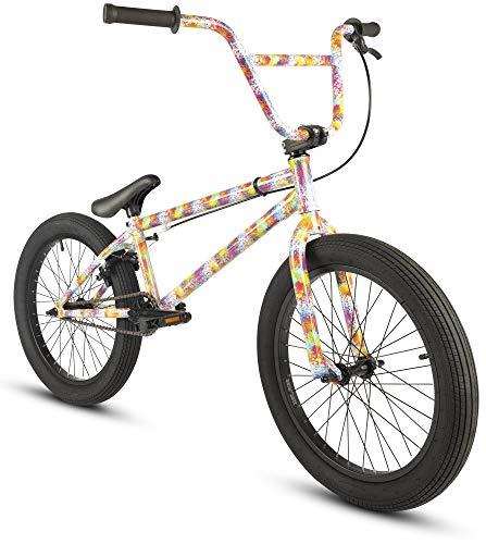 20 Zoll BMX Collective C1 Pro Park Freestyle Bike Fahrrad 16/9 Park Bike schwarz, raw, rot oder Galaxy (Burst) - Zoll Bmx 20 Bike