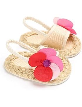 Vovotrade Sandalias de flores para bebés Princesa del niño Caminantes del primer paso Zapatos De Las Niña